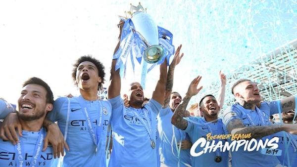 Man City Win Premier League